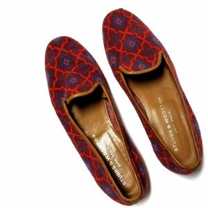 Stubbs & Wootton Women's knit loafer size 8